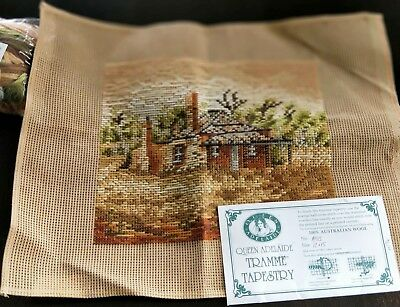 BRAND NEW QUEEN ADELAIDE Trammed TAPESTRY CANVAS & WOOL No. A58