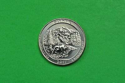 2011-P  BU  Mint State  (Olympic) US National Park Quarter Coin