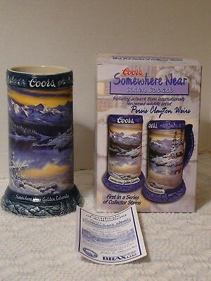 Somewhere Near Golden Colorado Stein, 2003 Coors Brewing, 1st in Series