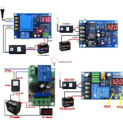 12V/ 24V 6-60V Battery Charging Control Board Charger Power Supply Switch Module