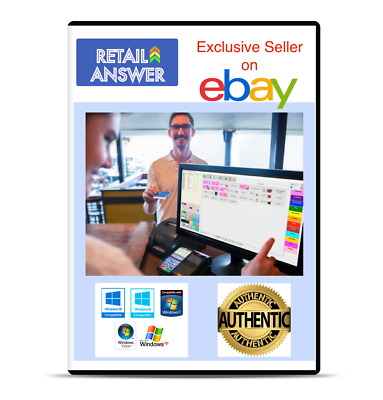 Retail Hospitality POS software Cash Register Billing Point of Sale w/ Inventory