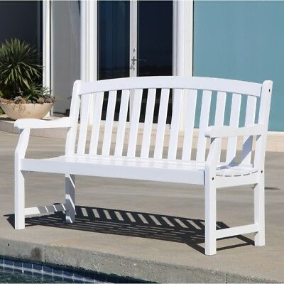 V1343  nBradley Outdoor Wood Bench