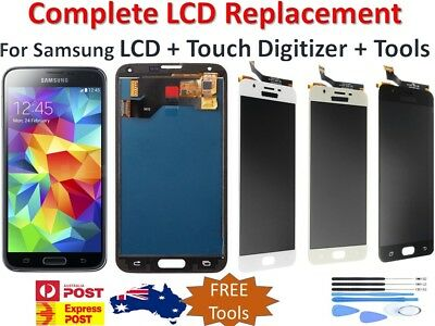 For Samsung Galaxy S5 S6 S7 S8 J7 LCD Touch Screen Replacement Digitizer Display