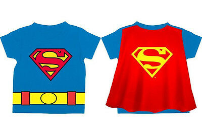 93a5d0234 NEW* DC COMICS: Superman Logo Toddler's Royal Blue Cape 2T Small (S ...