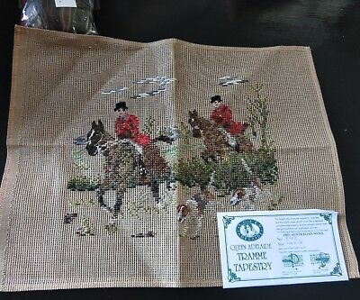 BRAND NEW QUEEN ADELAIDE Trammed TAPESTRY CANVAS & WOOL No. 542