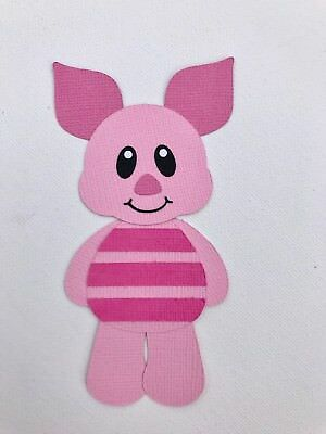 Piglet - fully assembled die cut / paper piecing