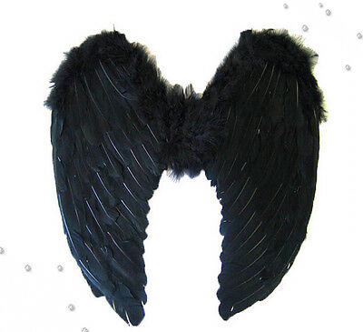 Halloween Adult Angel Feathers Fairy Wings Fancy Dress Costume Hen Night Outfit