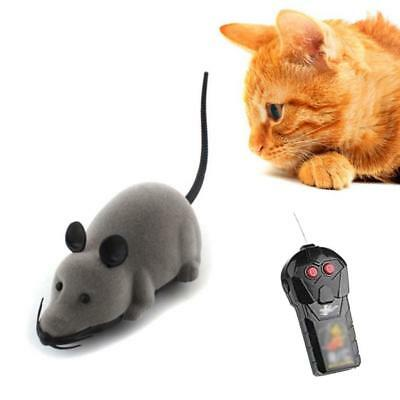 Remote Control RC Rat Mouse Wireless For Cat Dog Pet Funny Toy Novelty Gift C JS