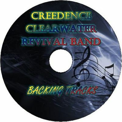 Creedence Clearwater Revival Band Guitar Backing Tracks Cd Best Greatest Hits