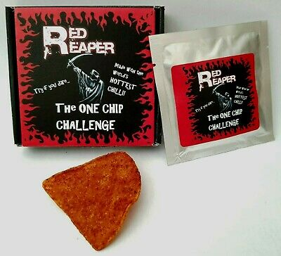 One Chip Challenge chilli! Carolina Reaper by Red Reaper 🔥🔥🔥