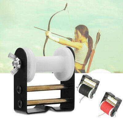 Archery Bow String Serving Thread Cord + Strings Serving Jig Bow Assist Tool