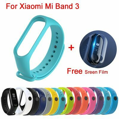 Silicone Bracelet Wrist Strap Replacement Wristband  Band for Xiaomi Mi Band 3