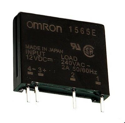 Elektronisches Relais OMRON , Eing. 12V DC, Ausg. 240V~/2A~ Solid State, 1St