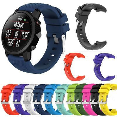 Soft Silicagel Sports Watch Band Strap For HUAMI Amazfit Stratos Smart Watch 2