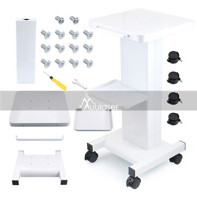 Iron Trolley Stand For Cavitation RF Beauty Slim Machine Assembled Trolley Cart