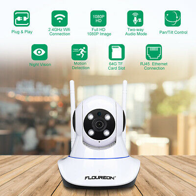HD 1080P 2.0MP IP Cámara IPC WIFI Wireless IR-CUT Baby Monitor de bebé niñera ES