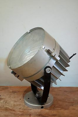 1x3 lámpara foco reflector vintage industrial barco cine teatro searchlight ship