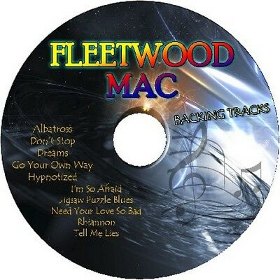 Fleetwood Mac Guitar Backing Tracks Cd Best Of Greatest Hits Music Play Along