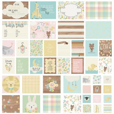 Simple Stories Sn@p Pack - OH, BABY! - 48 pieces - pocket page scrapbooking