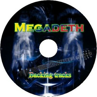 Megadeth Guitar Backing Tracks Cd Best Greatest Hits Music Play Along Metal