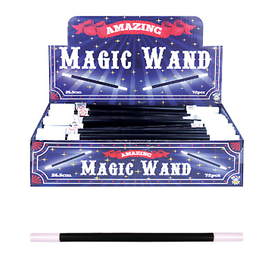 Bulk Job Lot Wholesale 72 Magic Wands Xmas Fair Fete PTA Kids Party Bag Filler