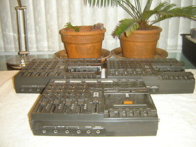Tascam Porta One, Lot of 3, 4 Ch, 4 Track Cassette Recorder, for Repair