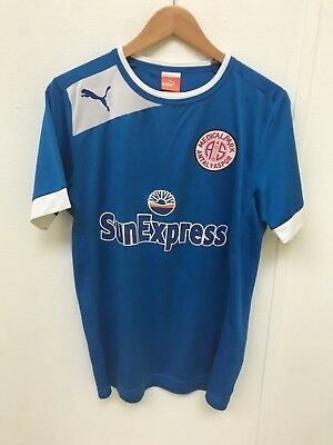 Antalyaspor FC Puma Men's Football Shirt - Medium (M) - Blue - New