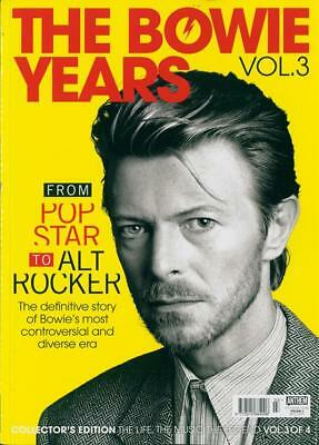 The Bowie Years Vol.3 - From Pop Star To Alt Rocker Collector's Edition Magazine