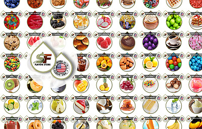 Food Flavor Concentrates - 1 Ounce - 125 Flavors by SageFox Flavor Store