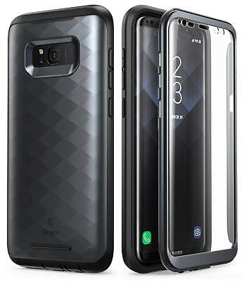 For Samsung Galaxy S8+ Plus, Clayco Full Body Case Cover w/ Screen Protector