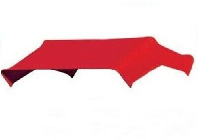 """405580 - Red Buggy Top Replacement Cover Only For 3 Bow 40"""" Umbrella Frame TBT3"""