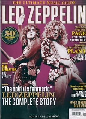 Led Zeppelin - The Uncut Ultimate Music Guide -  50Th Anniversary Edition...new