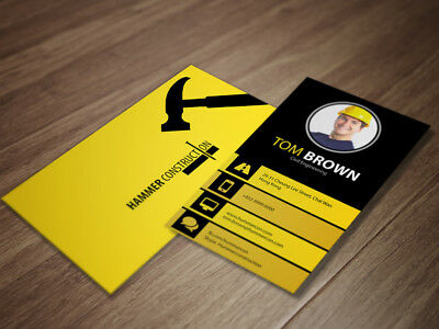 1000 Print Business Cards + Free Template + Free Shipping