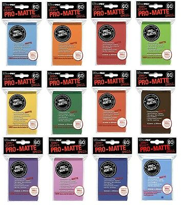 Pro Matte 60 Pack Ultra Pro Card Sleeves - Deck Protectors Small Size Yu Gi Oh