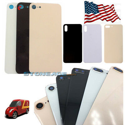 For iPhone X 8 Plus iPhone 8 Battery Glass Cover Housing Back Door Replacement