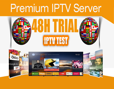 IPTV 36 hrs  Trial  +6500 Channels US, CANADA, EUROPE, LATINO, AFRICAN, ARAB