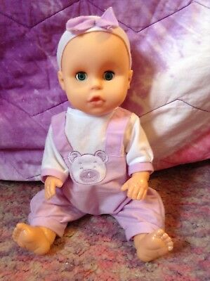 13 inch Interactive baby doll