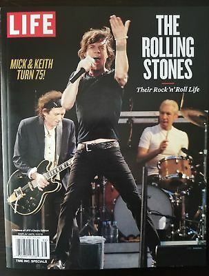 THE ROLLING STONES - THEIR ROCK n ROLL LIFE (MICK & KEITH TURN 75)LIFE MAGAZINE