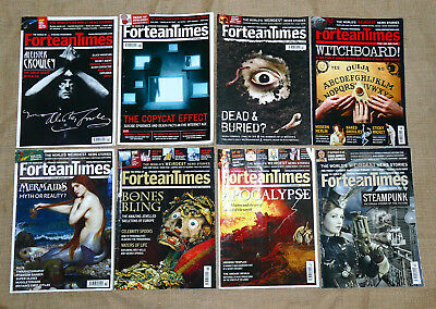 Fortean Times Magazine - 8 Issues - FT231,236,247,249,254,275,281,295