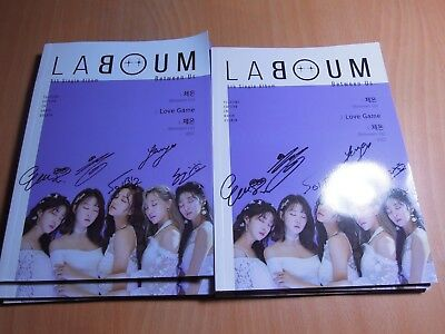 LABOUM - Between Us (5th Single Promo) with Autographed (Signed)