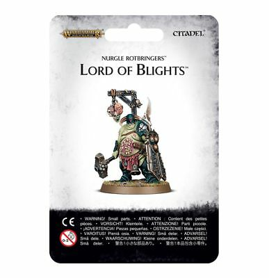 Lord of Blights Nurgle Rotbringers Chaos Warhammer Age of Sigmar NIB Flipside