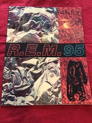 R.e.m.-Monster 3D Tour-Concert Program Book-Michael Stipe-Peter Buck-1995