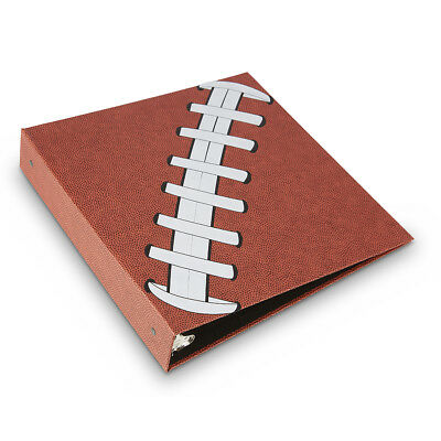 Pigskinz Football Card Binder Album - Feels Like A Real Football - 3-Ring Holder