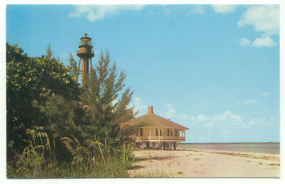 Sanibel Island Florida Lighthouse Point Postcard