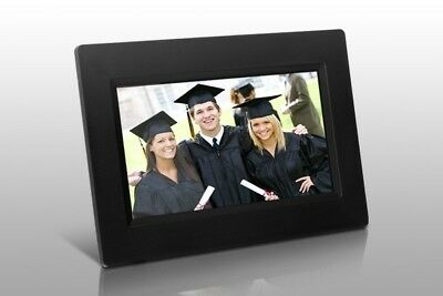 "Aluratek 7"" Digital Photo Frame w/ Auto Slideshow Feature"