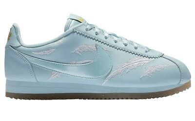 Nike Classic Cortez Goddess Of Victory Womens AR5393-400 Ocean Shoes Size 7