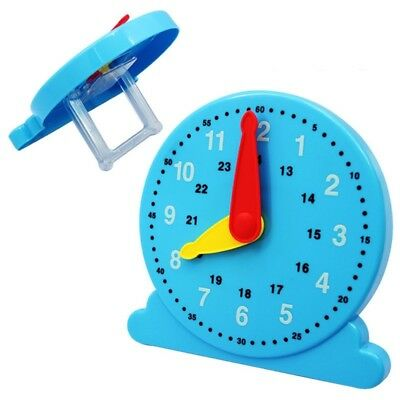 Baby Cognition Clock Time Teach Number Education Toy Early Learning Kid Gift Hot