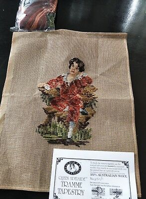 BRAND NEW QUEEN ADELAIDE Trammed TAPESTRY CANVAS & WOOL No. 251/1