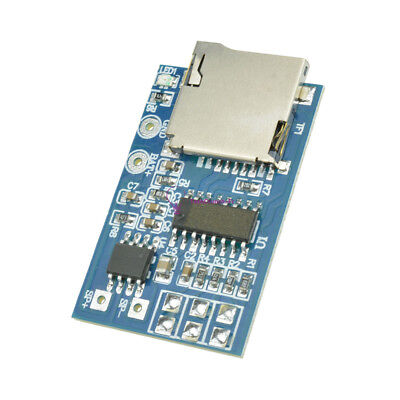 2/5PCS GPD2846A TF Card MP3 Decoder Board 2W Amplifier Module for Arduino