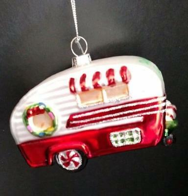Blown Glass Rvcampermotorhomechristmas Tree Ornamentcamping